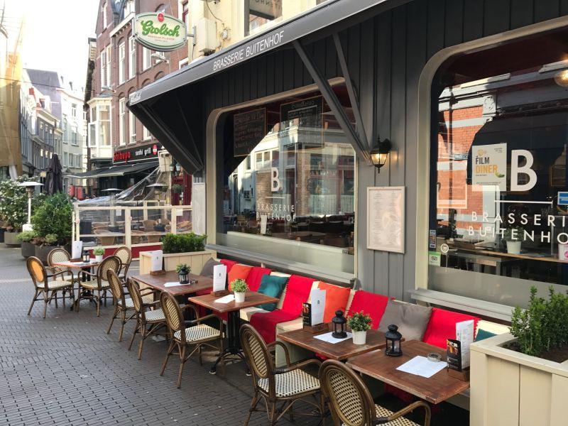 Brasserie in het centrum van Den Haag