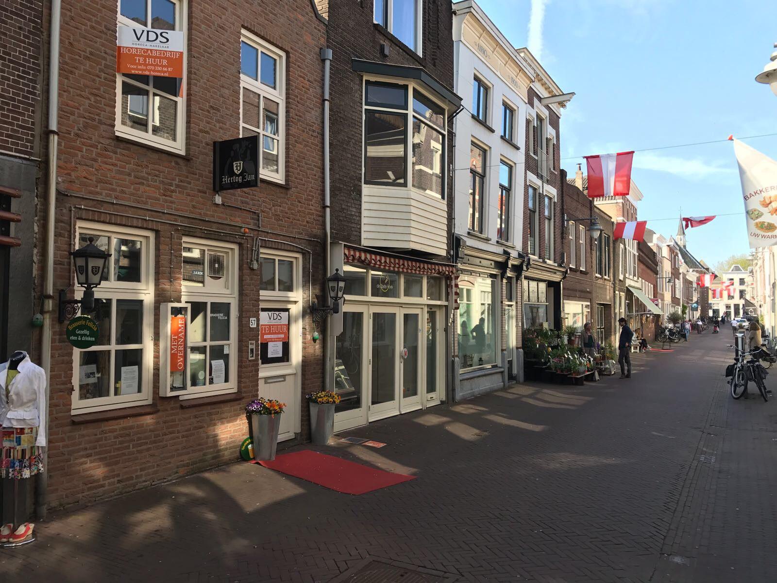 Horeca / winkelruimte in het centrum van Gouda