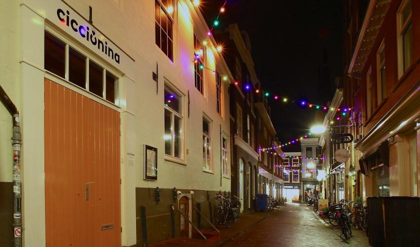 Nachthoreca in de Kromstraat van Delft