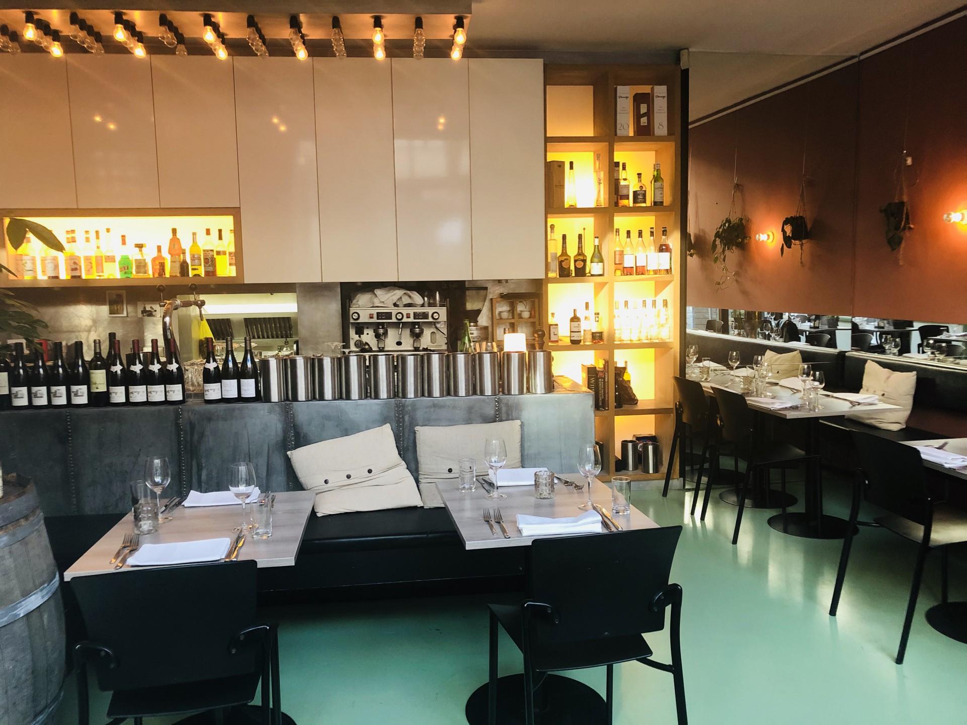Restaurant in de Prinsestraat