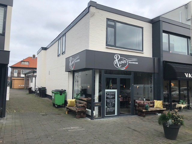 Restaurant in de Kempenaerstraat Oegstgeest
