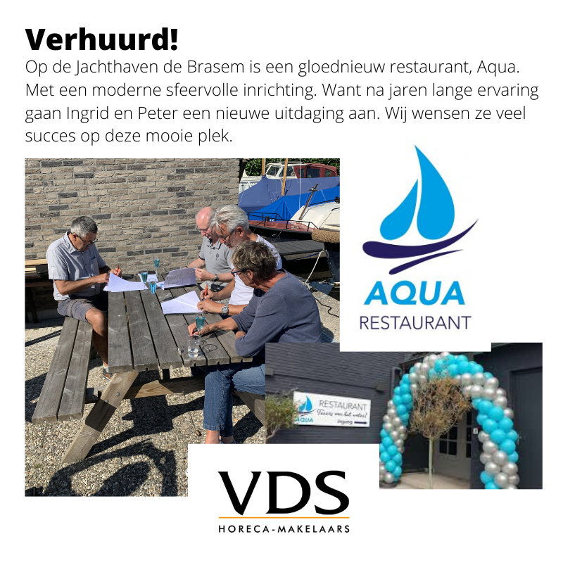 Nieuw Restaurant Aqua