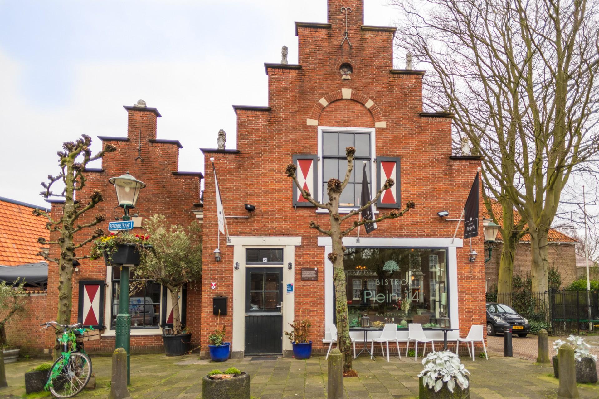 Restaurant in het centrum van Wassenaar