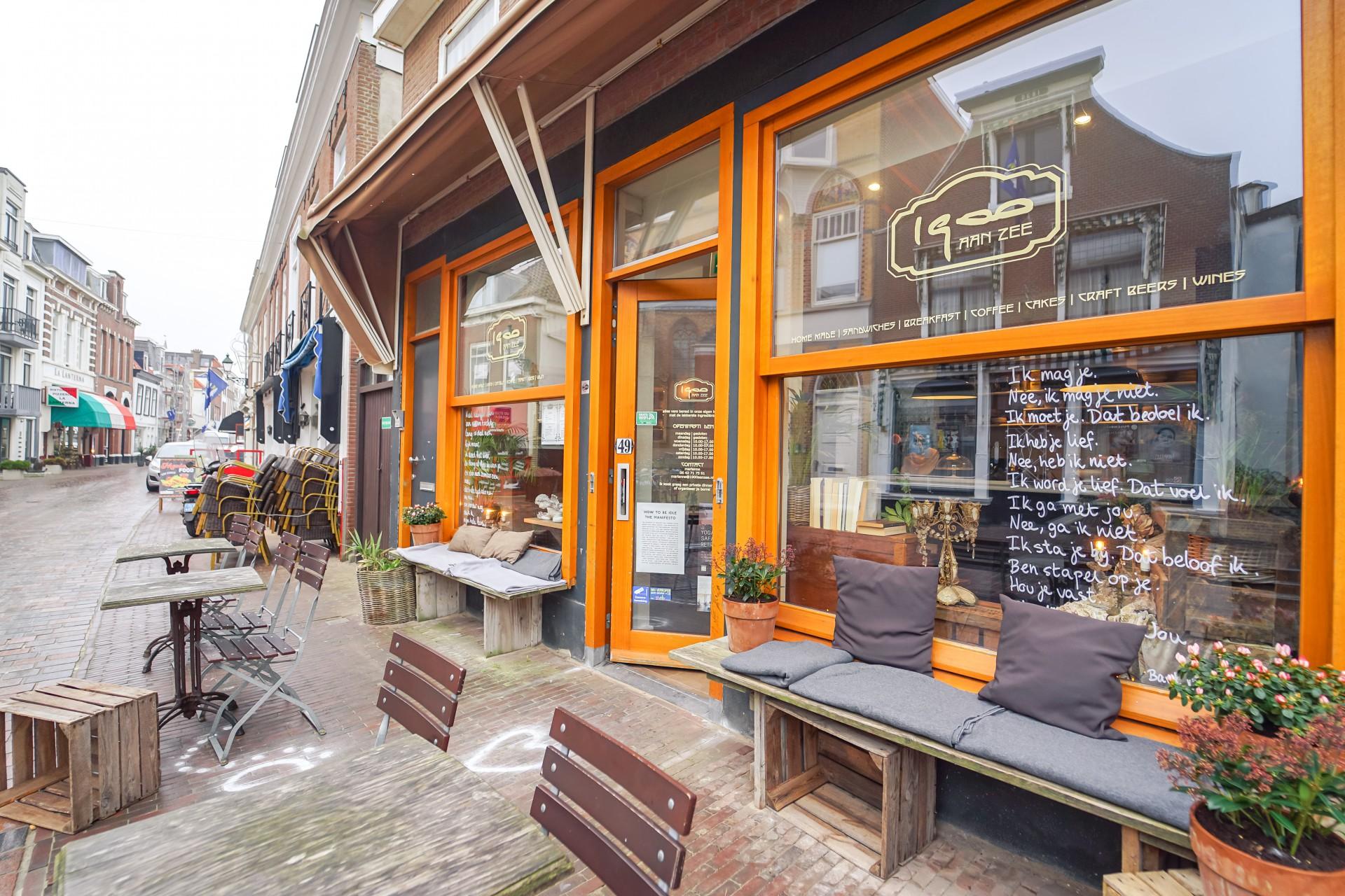 Lunchroom/koffiebar op Scheveningen