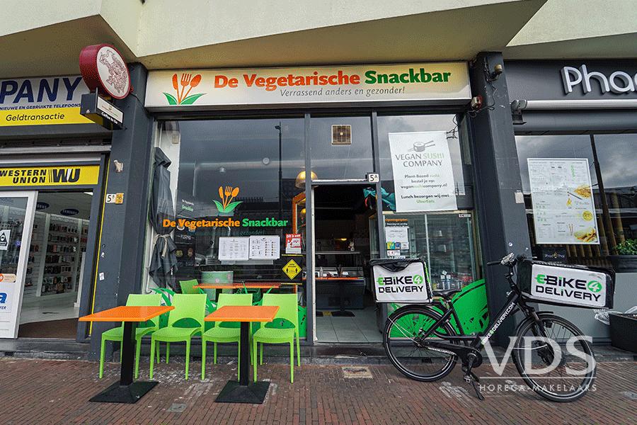 Snackbar aan het Stationsplein