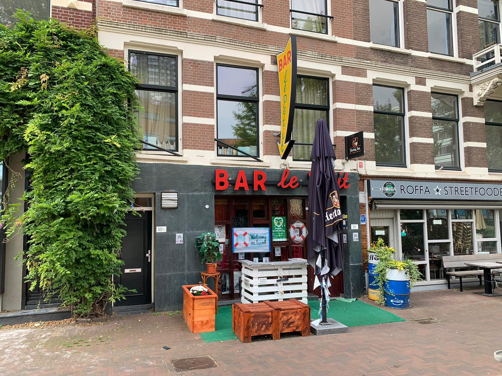 Gezellig café in Scheepsvaartkwartier Rotterdam